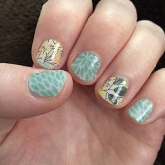 Mixing it up #jamberry #nails #lotusjn #sweetwhimsyjn #jamberrynails