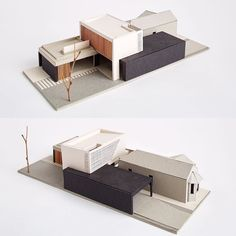 philip stejskal architecture - brick extension to a Queen Anne cottage in South Fremantle. Maquette Architecture, Architecture Model Making, Architecture Student, Concept Architecture, Interior Architecture, Architecture Panel, Drawing Architecture, Architecture Portfolio, Brick Extension