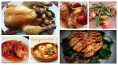 7 Recetas de pollo