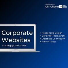 Represent your Brand/ Product/ Services with strategically designed and developed #corporatewebsite with #landingpage for #onlineadvertising starting @25,000 INR - ☎️ 9999848160 -  #digitalmarketing #marketing #socialmediamarketing #socialmedia #seo #business #branding #onlinemarketing #marketingdigital #contentmarketing #success #motivation #entrepreneur #business #inspiration #love #goals #life #mindset #motivationalquotes #money #quotes #lifestyle #entrepreneurship #instagood #hustle… Online Advertising, Online Marketing, Digital Marketing, Content Marketing, Social Media Marketing, Corporate Website, Admin Panel, Money Quotes, Competitor Analysis