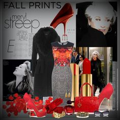 """""""FALL PRINT"""" by mariajalil on Polyvore"""