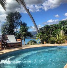 Haiti swimming pool in the back yard!!!!!