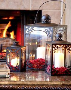 holiday lanterns Christmas