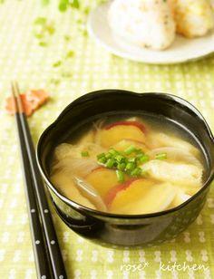 サツマイモのお味噌汁* by rose❀ [クックパッド] 簡単おいしい ...