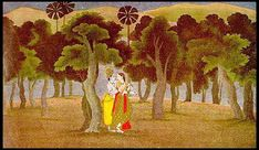 Kangra Paintings - Gita-Govinda - Plate 1