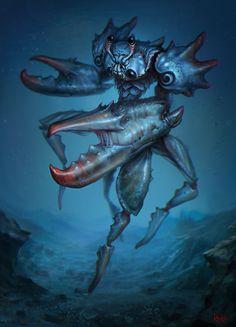 Crab man by Der-Reiko on deviantART