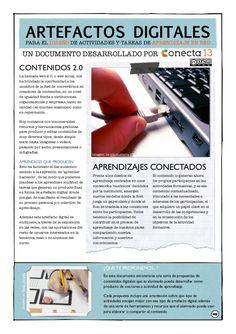 Artefactos Digitales para el Diseño de Actividades y Tareas de Aprendizaje by Conecta13 via slideshare