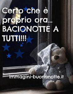 Bellissime Immagini per Augurare Buonanotte su Facebook e Whatsapp da immagini-buonanotte.it Animation, Funny, Facebook, Gifs, Good Night, Pictures, Italia, Night, Funny Parenting