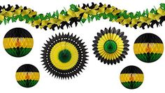 7-piece Complete Jamaican Honeycomb Party Decoration Set (Black/Yellow/Green) Devra Party http://www.amazon.com/dp/B01A4PMJTK/ref=cm_sw_r_pi_dp_yDzIwb0ZEBGGK
