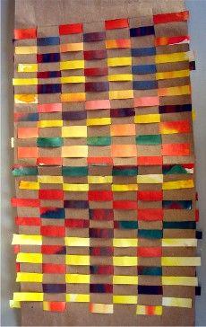 Tissage: technique en français Motifs Perler, Perler Patterns, Weaving Projects, Art Projects, Creation Art, Paper Weaving, Le Far West, Science Art, Art Plastique