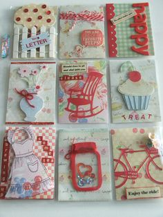 You could journal a couple of your yummy recipes on a journaling card. Paper Pocket, Pocket Cards, Pocket Scrapbooking, Scrapbook Cards, Pocket Pal, Fun Mail, Project Life Cards, Atc Cards, Pocket Letters