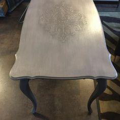 #table #after #beforeandafter #furniture #makeover #butterflyvintage