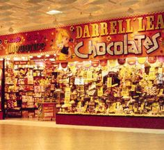 Darrell Lea Chocolates, George St Sydney