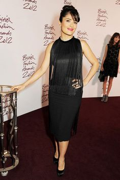 Salma Hayek en Stella McCartney croisière 2013 http://www.vogue.fr/mode/inspirations/diaporama/les-looks-du-mois-de-novembre-des-podiums-a-la-realite/10813/image/648950#salma-hayek-en-stella-mccartney-croisiere-2013-lors-de-la-soiree-des-british-fashion-awards-2012
