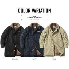 Black And Navy, Military Jacket, Field Jackets, Raincoat, Deck, Bomber Jacket, Menswear, Mens Fashion, Casual