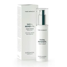 Crema Facial de Noche Renovación Total Anti Edad Milagro - Time Miracle Total Renewal Night Cream - Oianora - 1