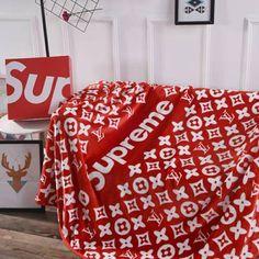Supreme Clothing, Hypebeast, Bedding Sets, Home Accessories, Household, Blanket, Louis Vuitton, Random, Birthday