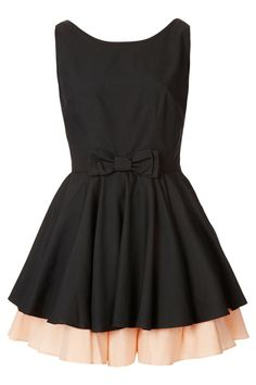 Make a dress look longer.