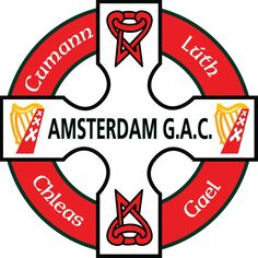 Amsterdam GAA club crest Crests, Amsterdam, Lute, Family Crest