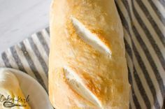 French Bread is easy to make at home with the Instant Pot.