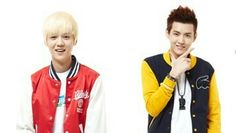 Kris and Luhan from EXO official's line