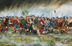 The Last Highland Charge by Richard Moore. (PC)  On the 16th April 1746, the Jacobites mounted their last Highland Charge. Wet, hungry and weary, the Jacobites charged into the guns and bayonets of the Duke of Cumberlands army.