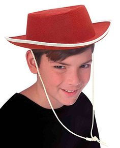 Forum Novelties Costume Accessory Child Size Cowboy Hat Red *** Want additional info? Click on the image.