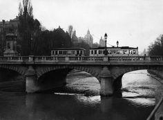 Ludwigsbrücke in München vor 1945