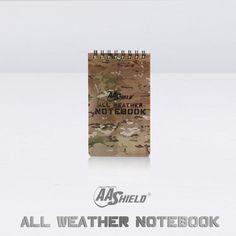 """AA Escudo para Todos Os Climas 3 """"X 5"""" Nota Camo À Prova D' Água Ao Ar Livre Mapa Notebook Frete Grátis"""