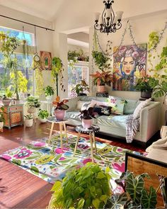 Attractive Bohemian Home Interior Design Ideas: Laid-back luxe bohemian interiors are the perfect balance to the conundrum of city life. Aesthetically attractive with a contact. Room Ideas Bedroom, Bedroom Decor, Deco Studio, Pretty Room, Aesthetic Room Decor, Dream Home Design, Dream Rooms, Cool Rooms, My New Room