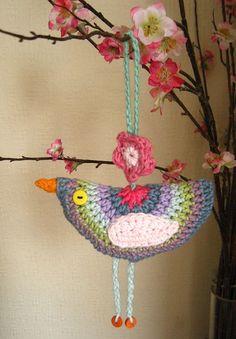 Little Birdie crochet decoration | Flickr - Photo Sharing!!!: