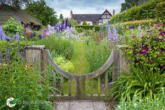Wollerton Old Hall Garden - Gate into Sundial Garden