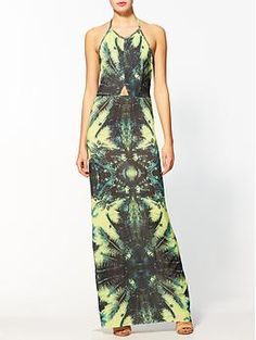 Isla Palm Print Maxi Dress....Love :)