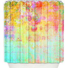 Artistic Shower Curtains by DiaNoche Designs, Hybrid Ocean by DiaNoche Designs on Opensky, @OpenSky, #dianochedesigns, #homedecor, #art, #showercurtain, @DiaNoche Designs, #stylish, #bath, #modernhome, #bathroom, #opensky, @DiaNoche Designs