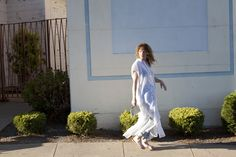 Curly Hair. Model wearing Loup Charmant. Photo by Good Stock Oakland