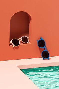 Studio Paris, Set Design, Graphic Design Inspiration, Still Life, September 21, Photoshoot, Glasses, Flat Lay, Photography