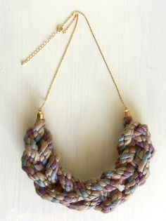 Necklace by Homako via Etsy, love it its so different!