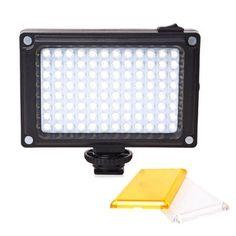 Ulanzi Mini LED Video Light Dimmable Lighting on Camera