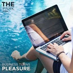 ‪#‎TheParkWay‬: At The Park, business need not trump pleasure. Ditch the boardroom for a poolside meeting - and perhaps a cocktail (or two!)