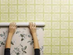 Although hanging wallpaper is not a very difficult project, removing it from the wall can be an entirely different matter. Most experts recommend removing the old wallpaper,. Wallpaper Over Wallpaper, Office Wallpaper, How To Hang Wallpaper, Bathroom Wallpaper, Hanging Wallpaper, Hanging Artwork, Beautiful Wallpaper, Wallpaper Decor, Old Bed Sheets
