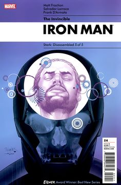 Iron Man Cover Design. Stark: Disassembled 5 of 5.