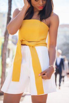 Stella-Uzo и ее «Jadore-fashion Ensembles Outfit, Girl Fashion, Womens Fashion, Fashion Tips, Fashion Trends, Mac Lady Danger, Yellow Clothes, Babe, Fashion Lighting