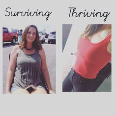 Thriving over surviving! When will you start YOUR experience?! #thrive #thrivewithme #healthy #wellness #allnatural #nongmo #justdoit #nikeofnutrition