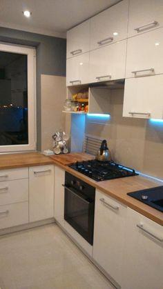 Modern home decor kitchen – Southern Home Decor Kitchen Room Design, Kitchen Cabinet Design, Home Decor Kitchen, Interior Design Kitchen, Kitchen Furniture, Home Kitchens, Small Modern Kitchens, Modern Kitchen Cabinets, Küchen Design