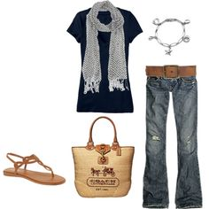 I need this outfit! especially the purse