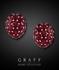 Graff Diamonds: Bombé Earrings