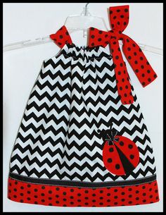 NEW++Summer+Little+Lady+Black+Chevron+by+LilBitofWhimsyCoutur,+$25.00