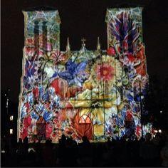 "The San Fernando Cathedral's video art installation, ""The Saga,"" runs Tues, Fri, Sat and Sun at 9pm in downtown San Antonio."