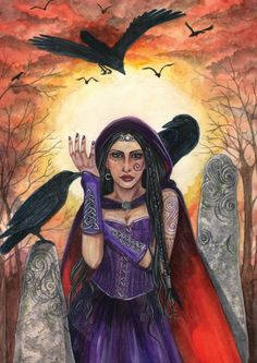 The Morrighan ~ Esther Remmington