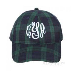 Monogrammed Baseball Hat https://marleylilly.com/product/monogrammed-baseball-hat/